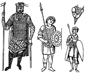 Византийские воины.