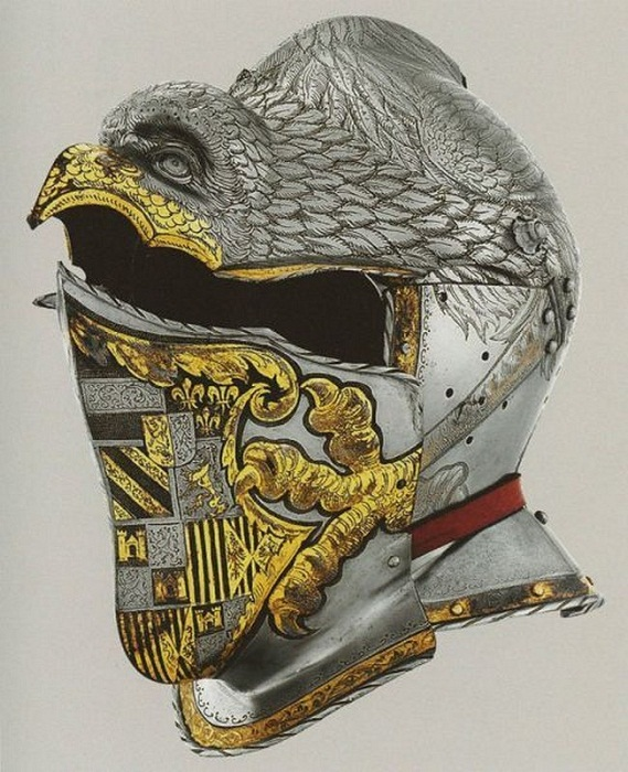 Торжественный шлем Императора Карла V Мудрого.